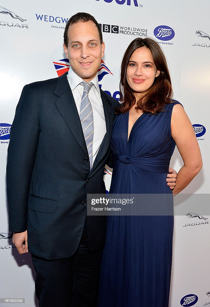 Lord Frederick Windsor (L) and Sophie Winkleman attend the launch of the Seventh Annual BritWeek Festival 'A Salute To Old Hollywood' on April 23, 2013 in Los Angeles, California.