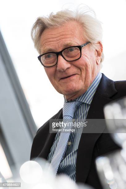 Lord Heseltine attends the HS2 Growth Taskforce report launch on March 21 2014 in London England