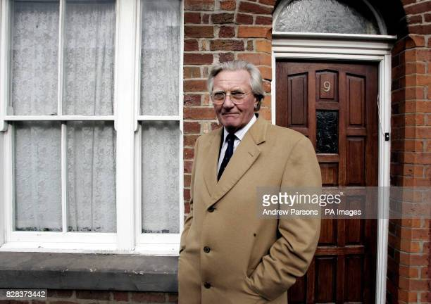 Lord Heseltine outside No 9 Madryn Street Liverpool Ringo Starr's old house The houses in Madryn St are earmarked for demolition under Johns...