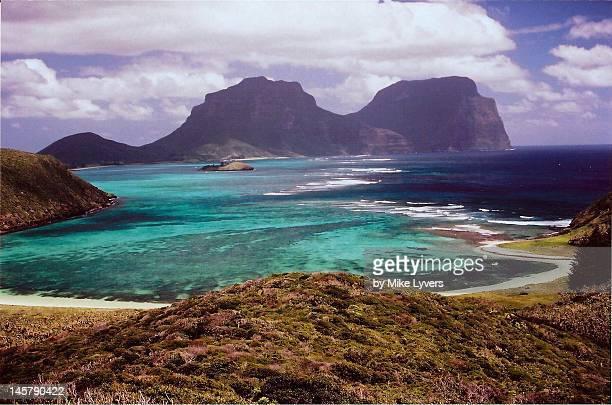 Lord Howe Island panorama