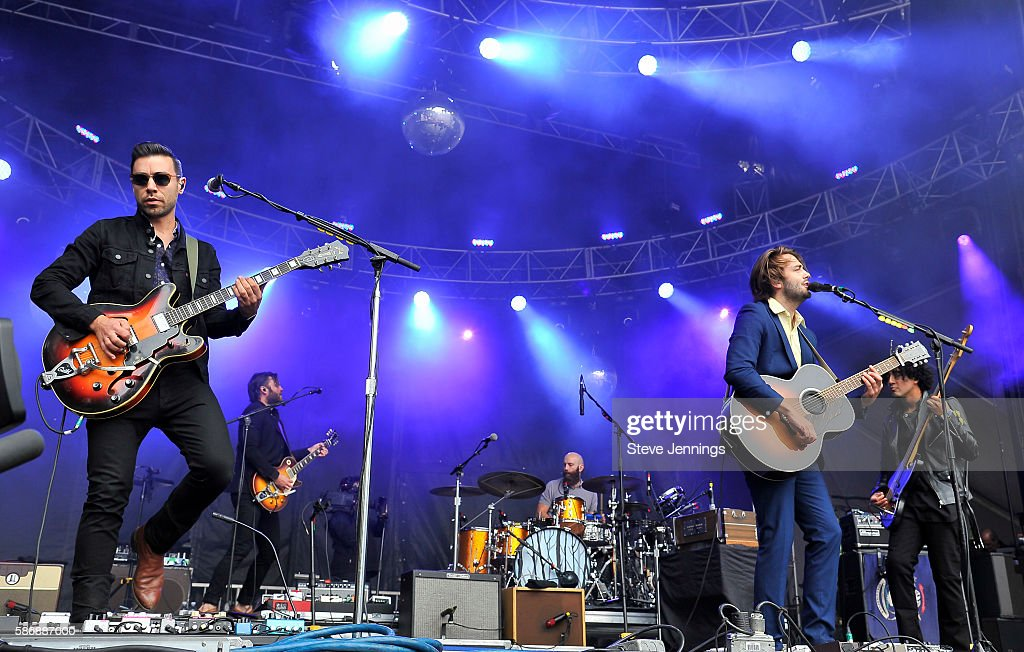 Lord Huron performs on Day 2 of Outside Lands Music and Arts Festival at Golden Gate Park on August 6 2016 in San Francisco California