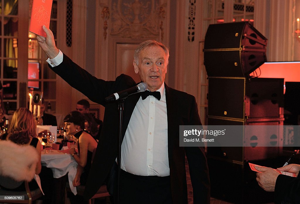 Lord <a gi-track='captionPersonalityLinkClicked' href=/galleries/search?phrase=Jeffrey+Archer&family=editorial&specificpeople=221280 ng-click='$event.stopPropagation()'>Jeffrey Archer</a> attends a drinks reception during the British Heart Foundation: Roll Out The Red Ball at The Savoy Hotel on February 11, 2016 in London, England.