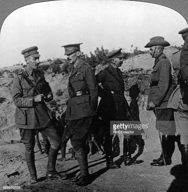 Lord Kichener reviews the situation at Gallipolli with ANZAC officers World War I 19151916 Launched in March 1915 the Allied landings on the...