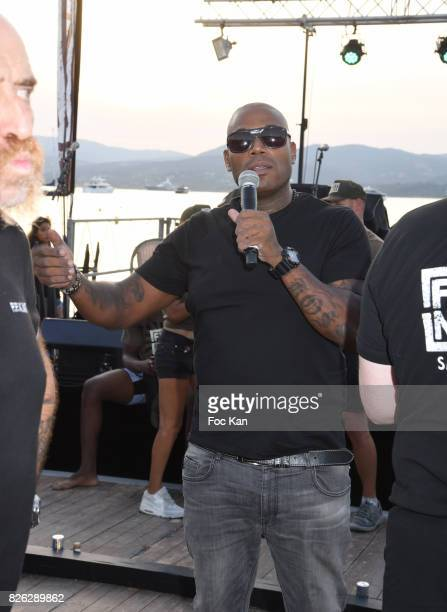 Lord Kossity attends the Fight Night Weighing Party at La Bouillabaisse Saint Tropez on August 3 2017 in SaintTropez France