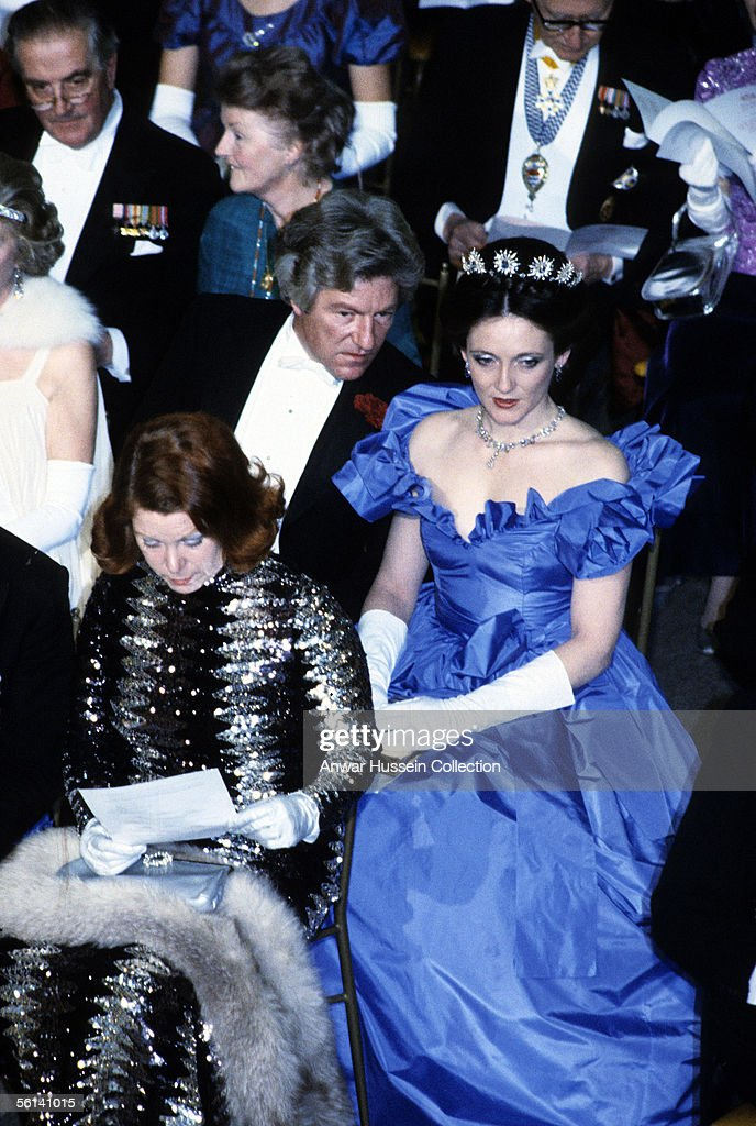 Lord Lichfield and his wife Leonora attend a reception in 1982 in London England Lord Lichfield died from a stroke on November 11 2005 at the age of...