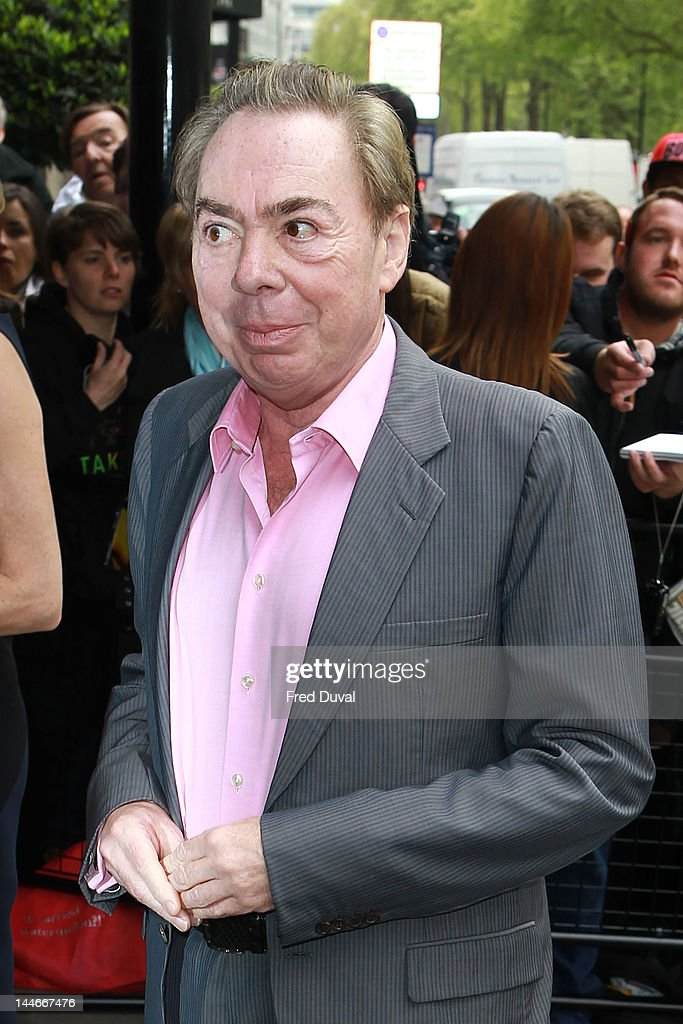 Lord Lloyd-Webber attends the Ivor Novello awards that honours songwriters, composers and music publishers at Grosvenor House, on May 17, 2012 in London, England.