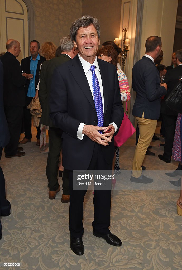 Lord Melvyn Bragg attends the The South Bank Sky Arts Awards, airing on Wednesday 8th June on Sky Arts, at The Savoy Hotel on June 5, 2016 in London, England.