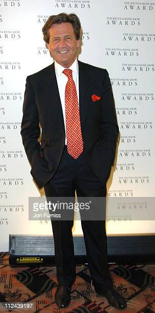 Lord Melvyn Bragg during The South Bank Show Awards Press Room at The Savoy Hotel in London Great Britain