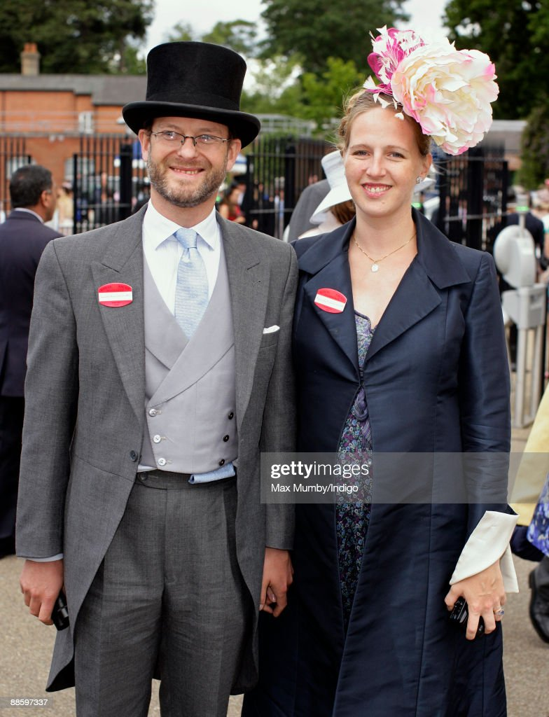 Lord Nicholas Windsor and wife Paola Doimi de Lupis de Frankopan (Lady Nicholas Windsor) attend the fifth and final day of Royal Week at Ascot Racecourse on June 20, 2009 in Ascot, England.