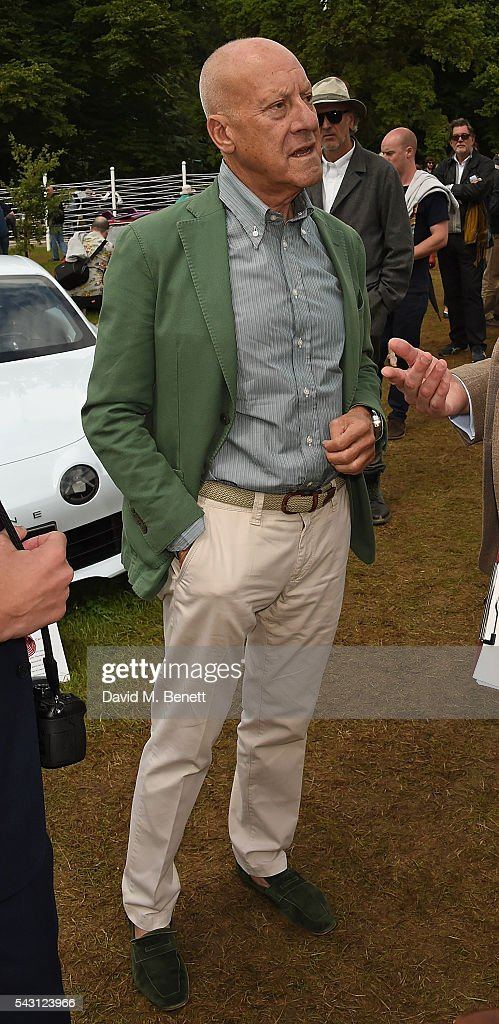 Lord <a gi-track='captionPersonalityLinkClicked' href=/galleries/search?phrase=Norman+Foster&family=editorial&specificpeople=138395 ng-click='$event.stopPropagation()'>Norman Foster</a> attends The Cartier Style et Luxe at the Goodwood Festival of Speed at Goodwood on June 26, 2016 in Chichester, England.