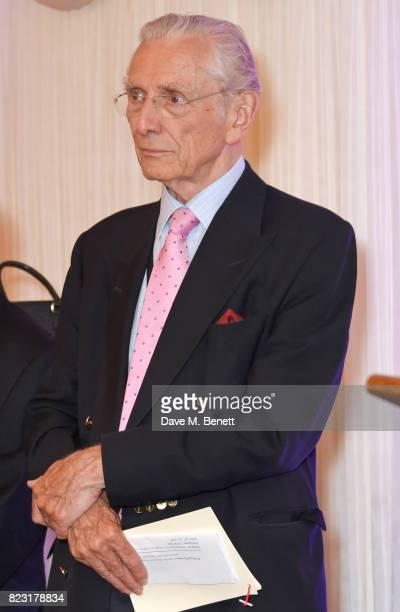 Lord Norman Fowler attends Absolut's #KissWithPride event at the Houses of Parliament in celebration of the 50th anniversary of The Sexual Offences...