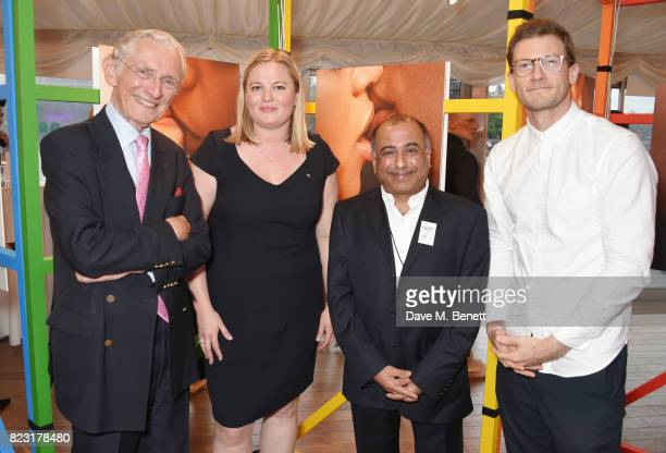 Lord Norman Fowler Louise Smith Director of Fundraising at Stonewall Niranjan Kamatkar founder of GFEST and Adam Boita Absolut Vodka Head of...