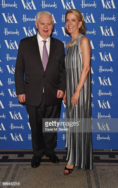 Lord Norman Lamont attends the 2017 annual VA Summer Party in partnership with Harrods at the Victoria and Albert Museum on June 21 2017 in London...