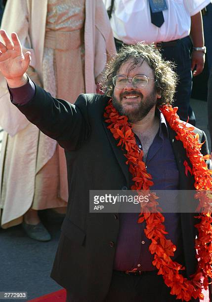 Lord of The Rings director Peter Jackson at the Embassy theatre for the worldwide premier of the third and final Rings movie 'Return of The King'...