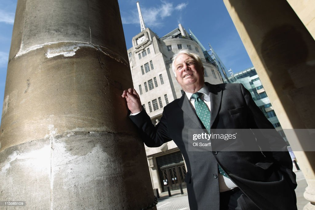 Lord Patten, the new BBC Trust chairman, poses for a photograph outside BBC Broadcasting House on his first day in the position on May 3, 2011 in London, England. Lord Patten takes over the role of BBC Trust chairman from Sir Michael Lyons who had held the position for four years. Prior to being appointed chairman, Mr Patten said he would give up the Tory whip in the Lords to avoid a conflict of interest, but remain a member of the Conservative party.
