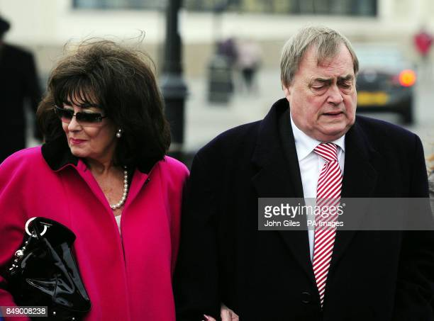 Lord Prescott and his wife Pauline leave Bridlington Spa this afternoon as counting continues for the Police and Crime Commissioner declaration in...