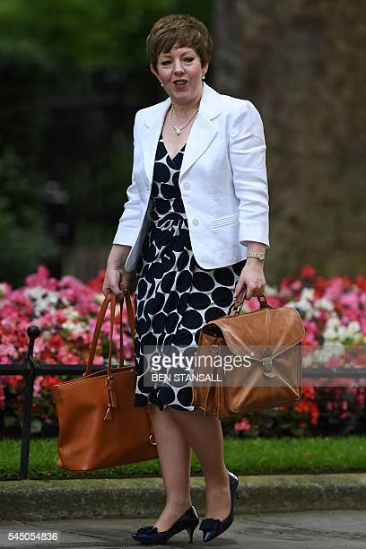 Lord Privy Seal and Leader of the British House of Lords Tina Stowell arrives to attend a cabinet meeting in central London on July 5 2016 In a move...