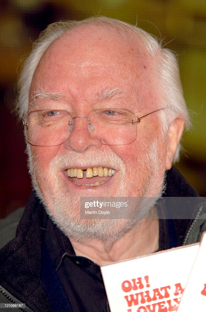"Lord Richard Attenborough Signs Copies of His DVD ""Oh!  What a Lovely War"" at"