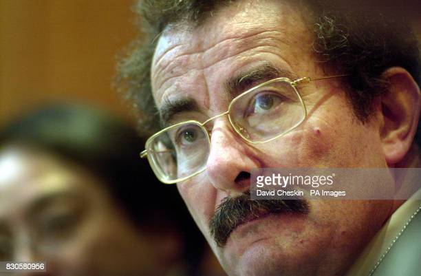 Lord Robert Winston a world leading scientists speeking at a press conference at the start of the human genome conference in Edinburgh