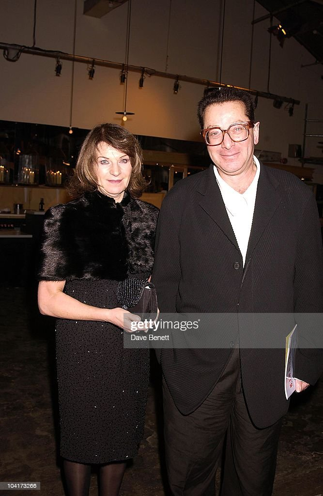Lord Saatchi With Lady Saatchi Josephine Hart, Gala Evening In Aid Of The Almeida Theatre At Their Kings Cross Location For The Last Time Before They Have To Move Again,a Performance Of Shakespeare's King Lear.then Followed By A Dinner For A Select Few