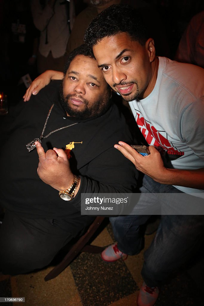 Lord Sear and D-Stroy attend at SOB's on June 18, 2013 in New York City.