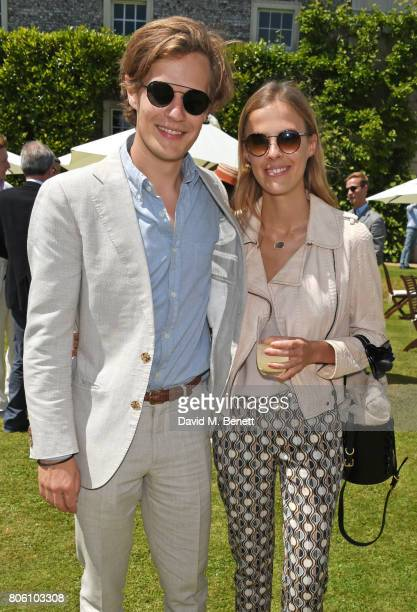 Lord Settrington Eleonore Decaux attend Cartier Style Et Luxe at the Goodwood Festival Of Speed on July 2 2017 in Chichester England