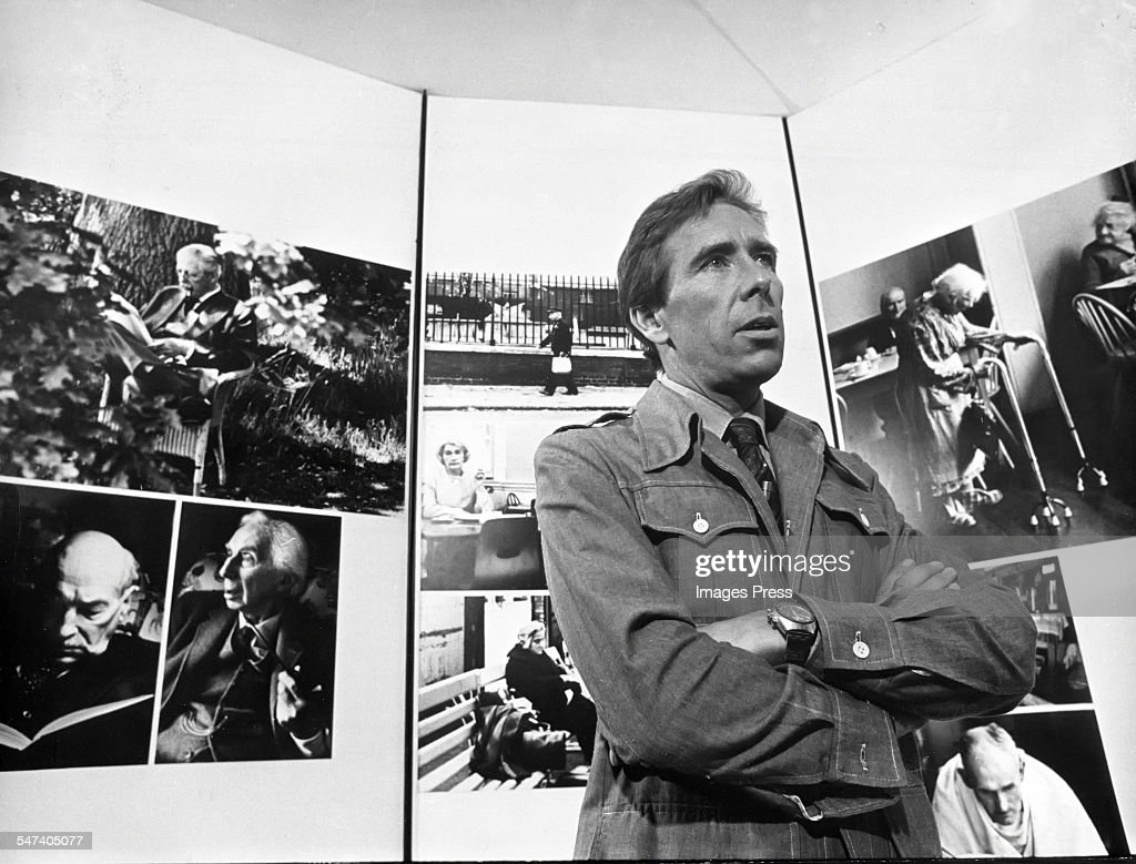 Lord Snowdon at an exhibition of his photographs circa 1975 in New York City.