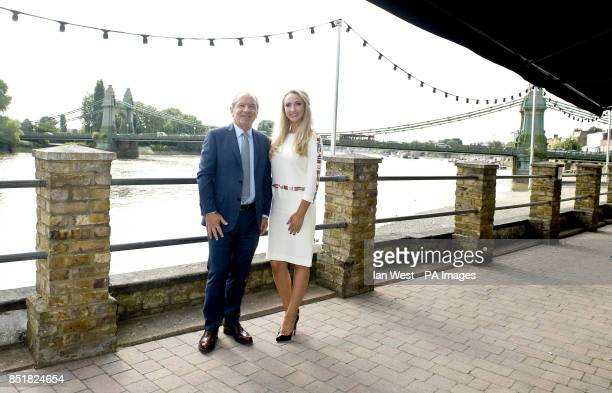 Lord Sugar unveils Leah Totton as the winner of The Apprentice in London