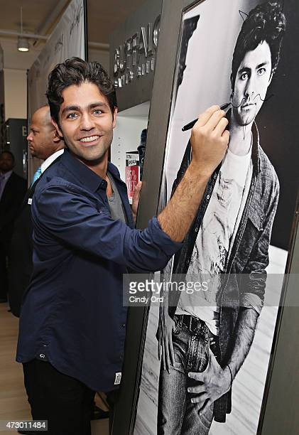 Lord Taylor hosts actor and Buffalo spokesperson Adrian Grenier on May 11 2015 in New York City