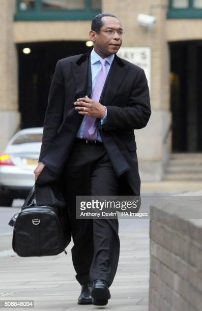 Lord Taylor of Warwick arrives at Southwark Crown Court London where the jury in the trial of the former Tory peer who is accused of fiddling...