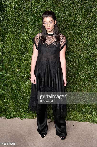 Lorde attends the 12th annual CFDA/Vogue Fashion Fund Awards at Spring Studios on November 2 2015 in New York City
