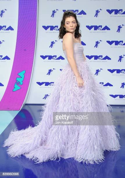 Lorde attends the 2017 MTV Video Music Awards at The Forum on August 27 2017 in Inglewood California