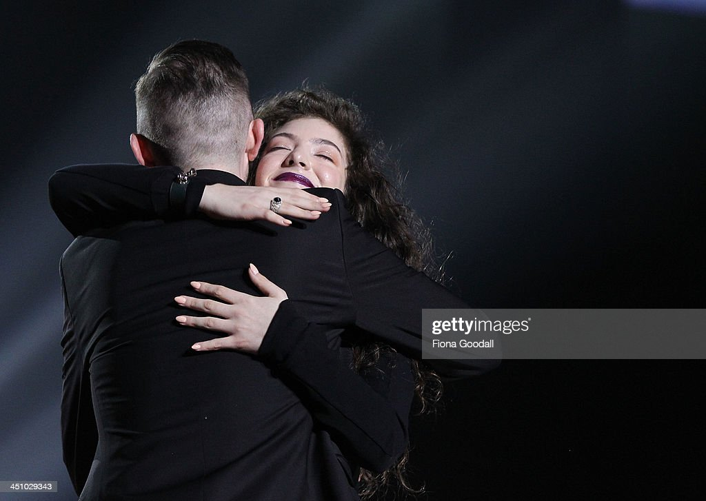 <a gi-track='captionPersonalityLinkClicked' href=/galleries/search?phrase=Lorde&family=editorial&specificpeople=3209104 ng-click='$event.stopPropagation()'>Lorde</a> 'Ella Yelich-O'Connor' wins Single of the Year, breakthrough artist of the year, and the people's choice award during the New Zealand Music Awards on November 21, 2013 in Auckland, New Zealand.