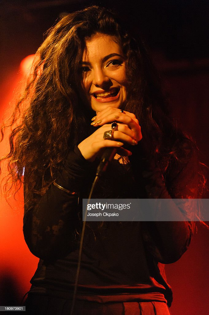 <a gi-track='captionPersonalityLinkClicked' href=/galleries/search?phrase=Lorde&family=editorial&specificpeople=3209104 ng-click='$event.stopPropagation()'>Lorde</a> performs on stage at Madame Jojo's on September 18, 2013 in London, England.