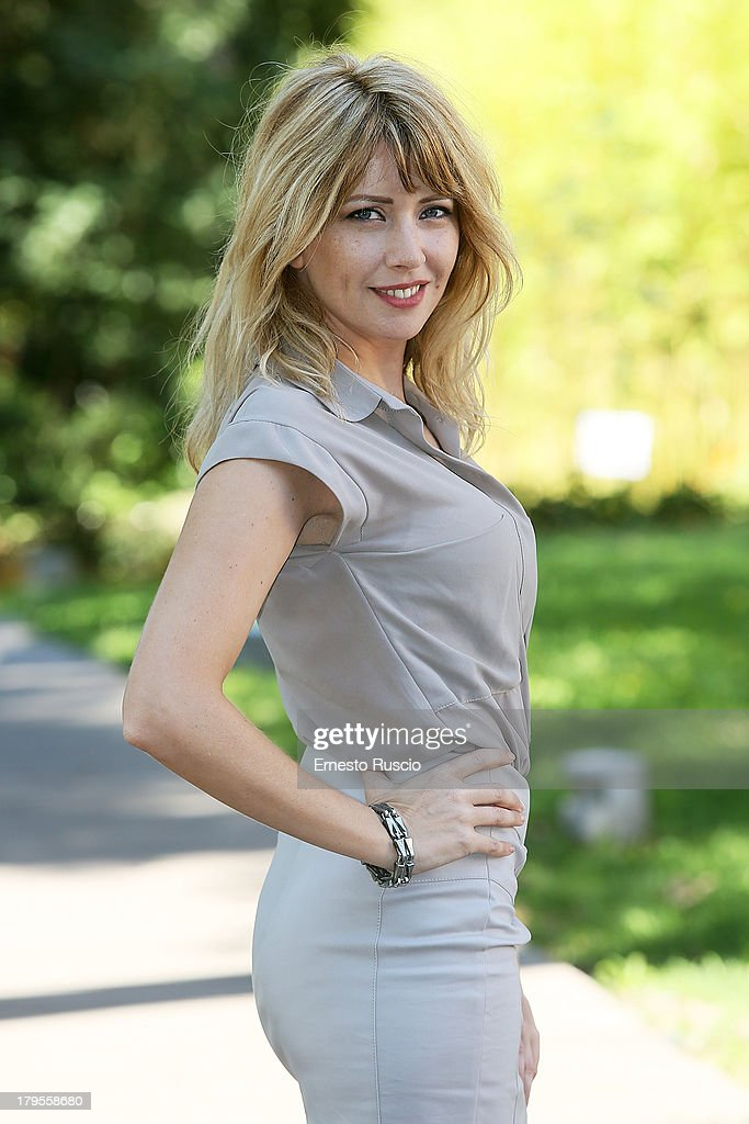 Loredana Cannata attends the 'Un Caso Di Coscienza 5' photocall at Casa del Cinema on September 5, 2013 in Rome, Italy.