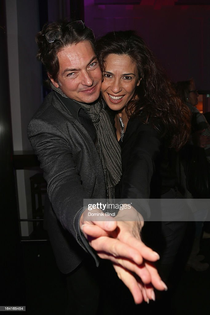 Loredana La Rocca and Pascal Breuer attend the Ndf Afterwork Party at 8 Seasons on March 20, 2013 in Munich, Germany.