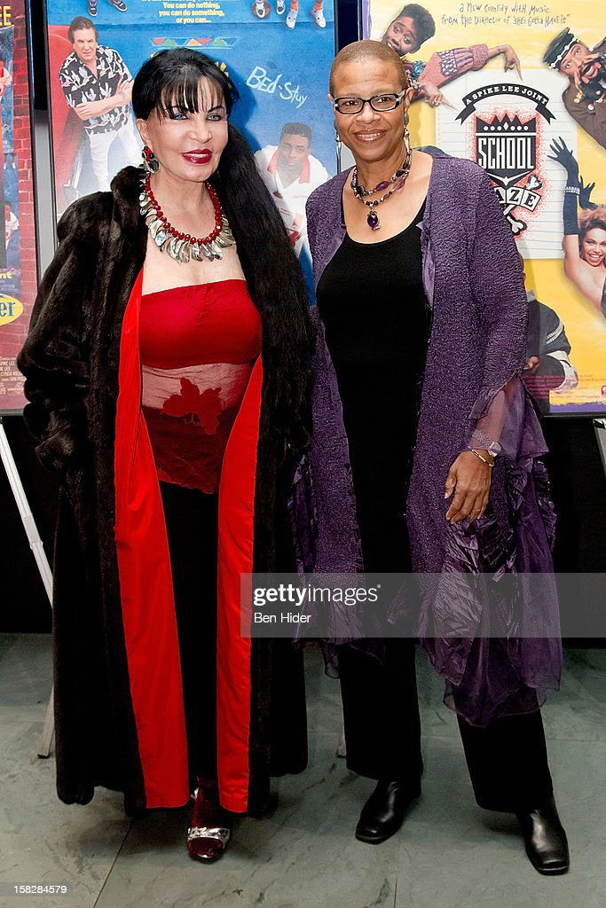 Loreen Arbus and Terrie Williams attends The Museum of Modern Art's Jazz Interlude Gala at MOMA on December 12, 2012 in New York City.