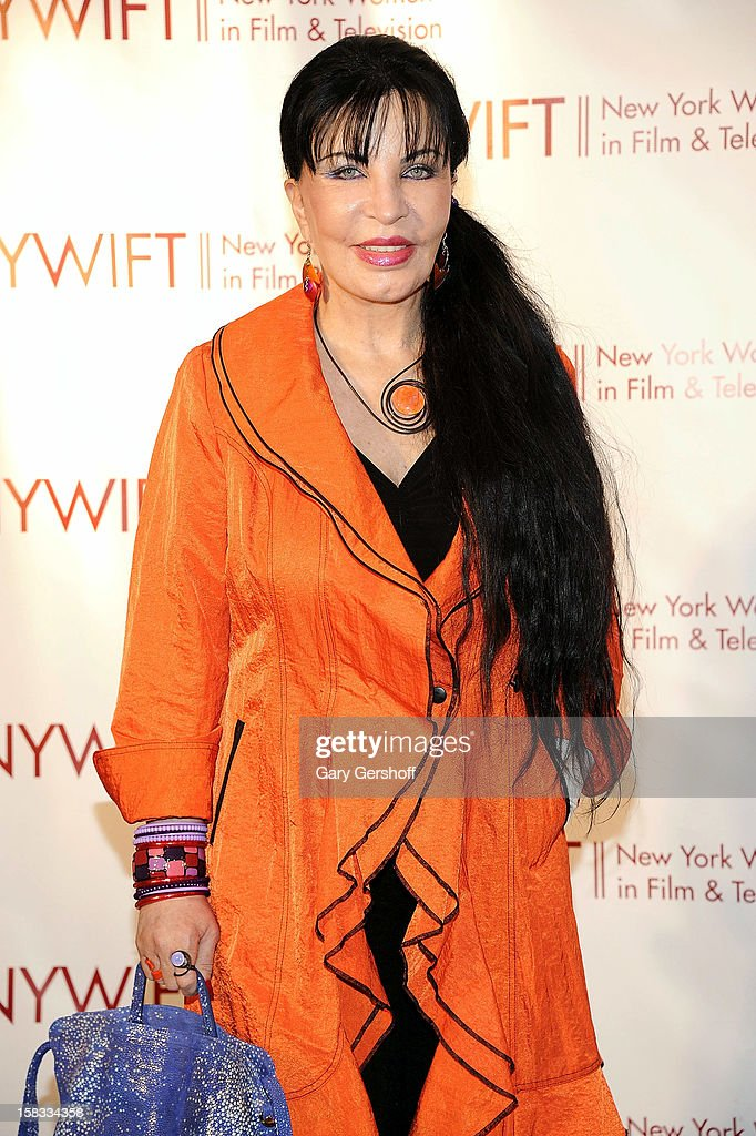Loreen Arbus attends the 2012 New York Women In Film And Television Muse Awards at the Hilton New York on December 13, 2012 in New York City.