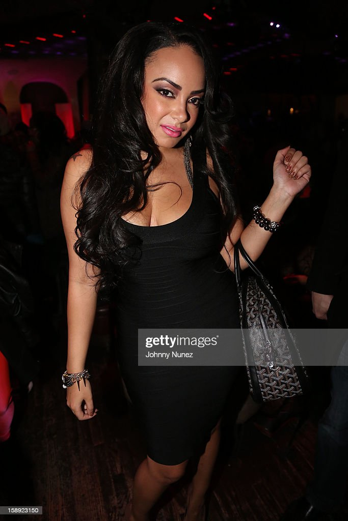 Lore'l attends the 'Love & Hip Hop' Season 3 Premiere Party at Kiss & Fly on January 3, 2013 in New York City.