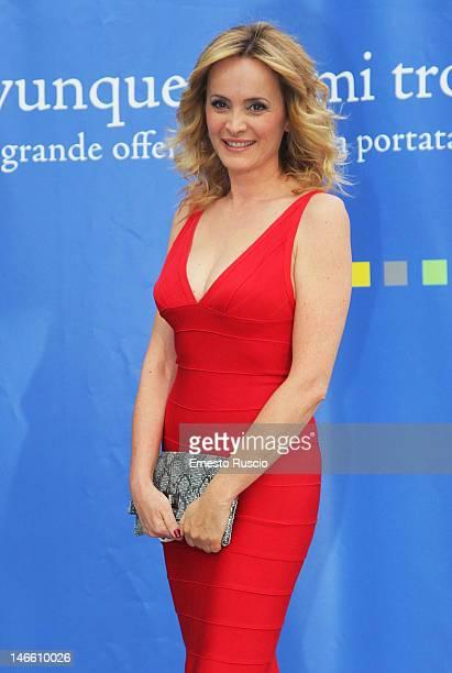 Lorella Landi attends the Palinsesti Rai photocall at Cavalieri Hilton Hotel on June 20 2012 in Rome Italy