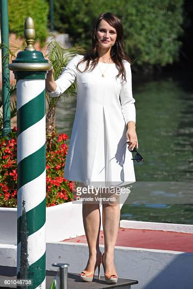 Lorena Bianchetti arrives at Lido during the 73rd Venice Film Festival on September 9 2016 in Venice Italy