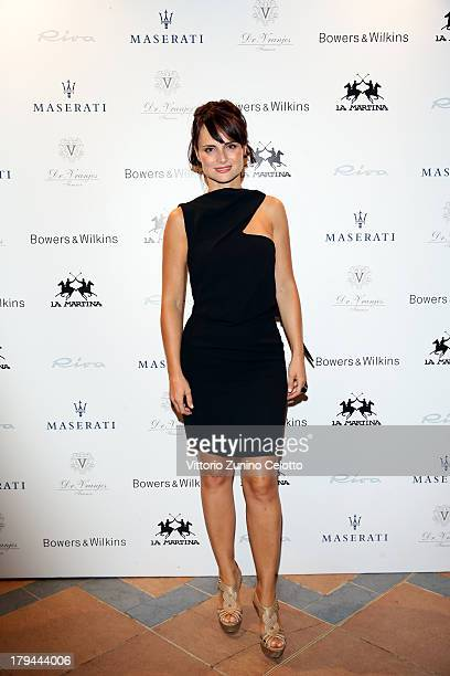 Lorena Bianchetti attend the Blue Carpet Night during 70th Venice International Film Festival at Terrazza Maserati on September 3 2013 in Venice Italy