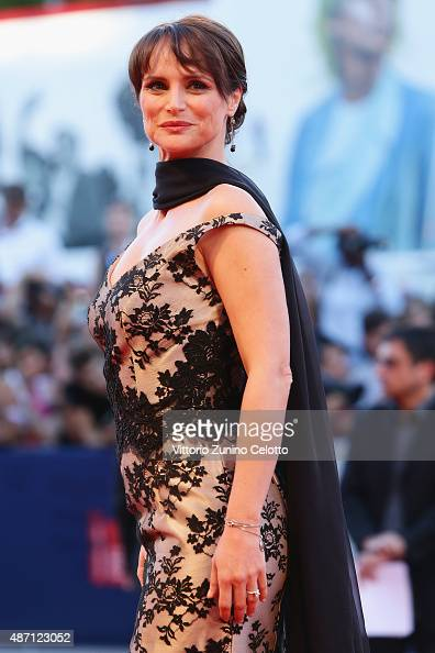 Lorena Bianchetti attends a premiere for 'A Bigger Splash' during the 72nd Venice Film Festival at on September 6 2015 in Venice Italy