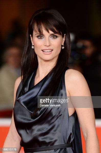 Lorena Bianchetti attends 'Parce Que J'etais Peintre' Premiere during The 8th Rome Film Festival on November 14 2013 in Rome Italy