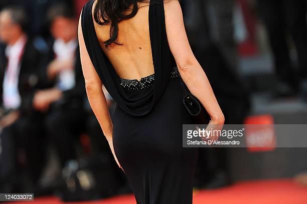 Lorena Bianchetti attends 'Quando La Notte' Premiere at Palazzo del Cinema on September 7 2011 in Venice Italy