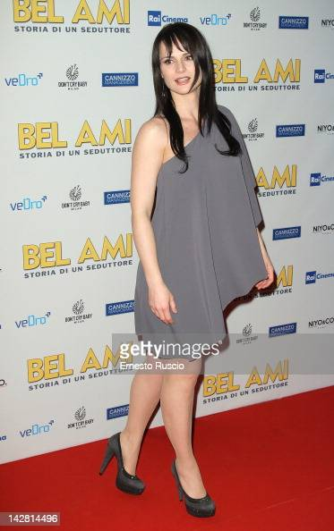 Lorena Bianchetti attends the 'Bel Ami' screening at Space Moderno on April 12 2012 in Rome Italy