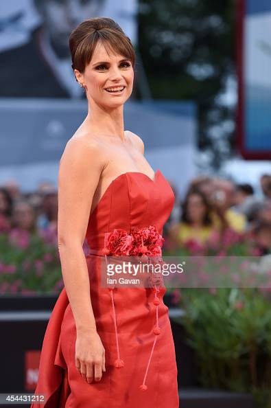 Lorena Bianchetti attends the 'Hungry Hearts' premiere during the 71st Venice Film Festival on August 31 2014 in Venice Italy