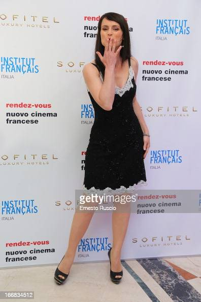 Lorena Bianchetti attends the RendezVous Film Festival opening night at Hotel Sofitel on April 17 2013 in Rome Italy