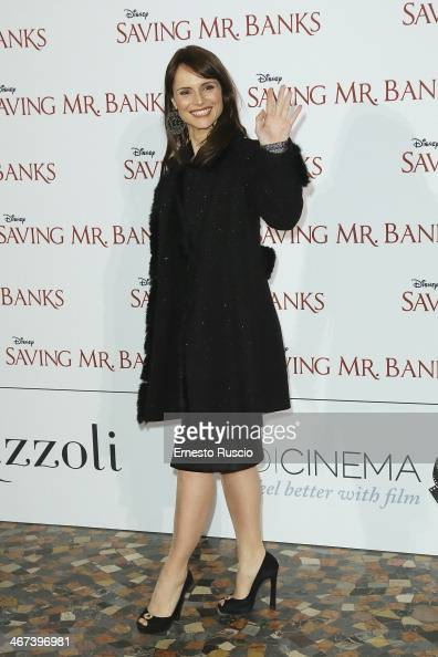 Lorena Bianchetti attends the 'Saving Mr Banks' premiere at The Space Moderno on February 6 2014 in Rome Italy