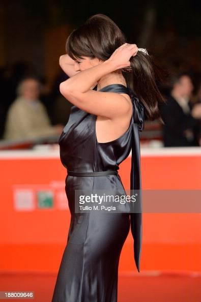 Lorena Bianchetti attends the 'Take Five' Premiere during The 8th Rome Film Festival at Auditorium Parco Della Musica on November 14 2013 in Rome...